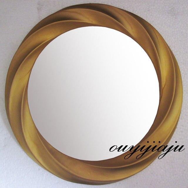 grande grande decorativo cosmtico antiguo bao de pared espejo con marco vintage espejo redondo weddinggift