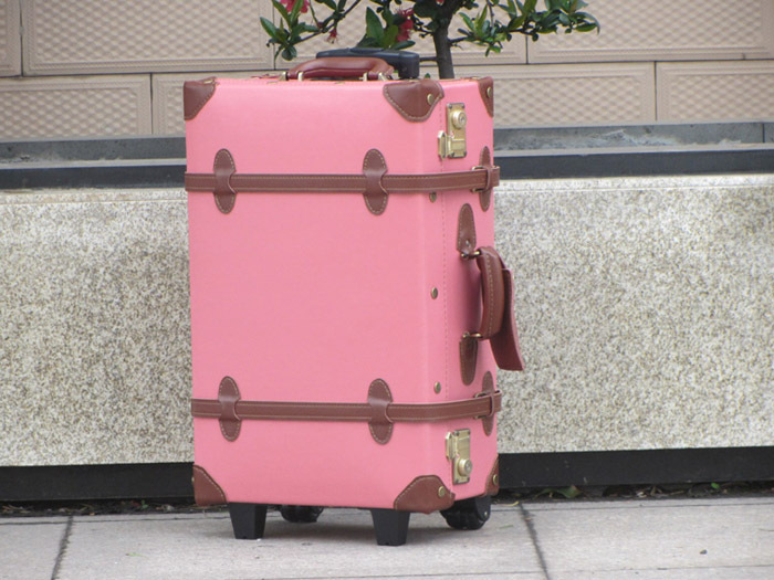 Customized!!!Vintage universal wheels trolley luggage,genuine leather travel bag luggage,18,20,22,24,28,30high quality bag