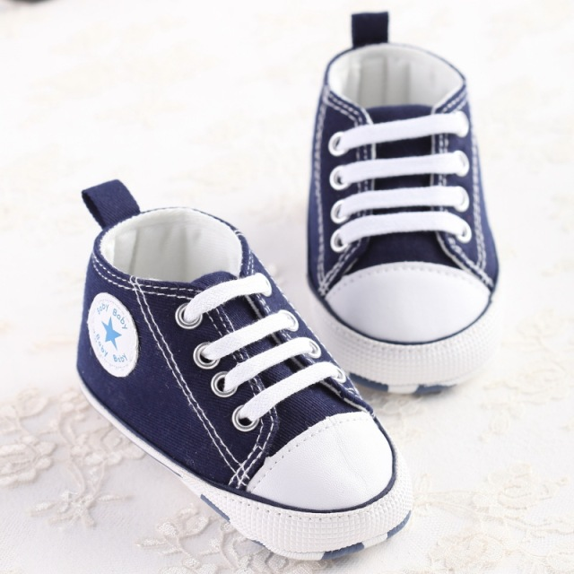 Newborn Baby Soft Bottom Anti-slip Prewalker Shoes