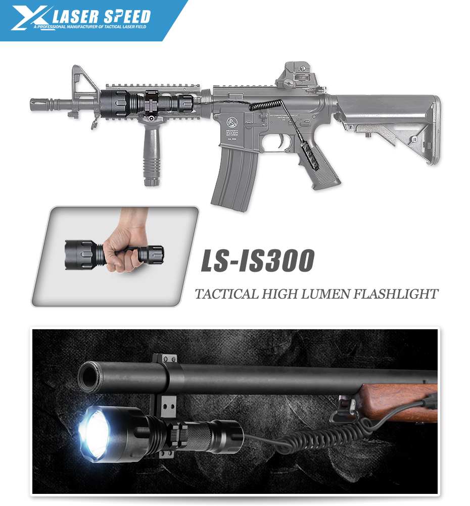 Transporte da gota laserspeed lanterna tática à