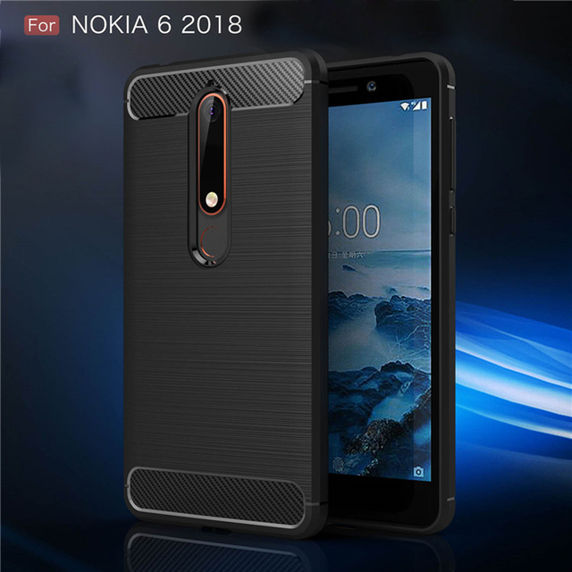 new york 07db0 7bcb2 US $3.03 20% OFF|For Nokia 6 2018 Case Nokia 6.1 Cases Luxury Carbon Fiber  TPU Cases for Nokia 6 2018 TA 1068 TA 1050 TA 1043 TA 1045-in Fitted Cases  ...