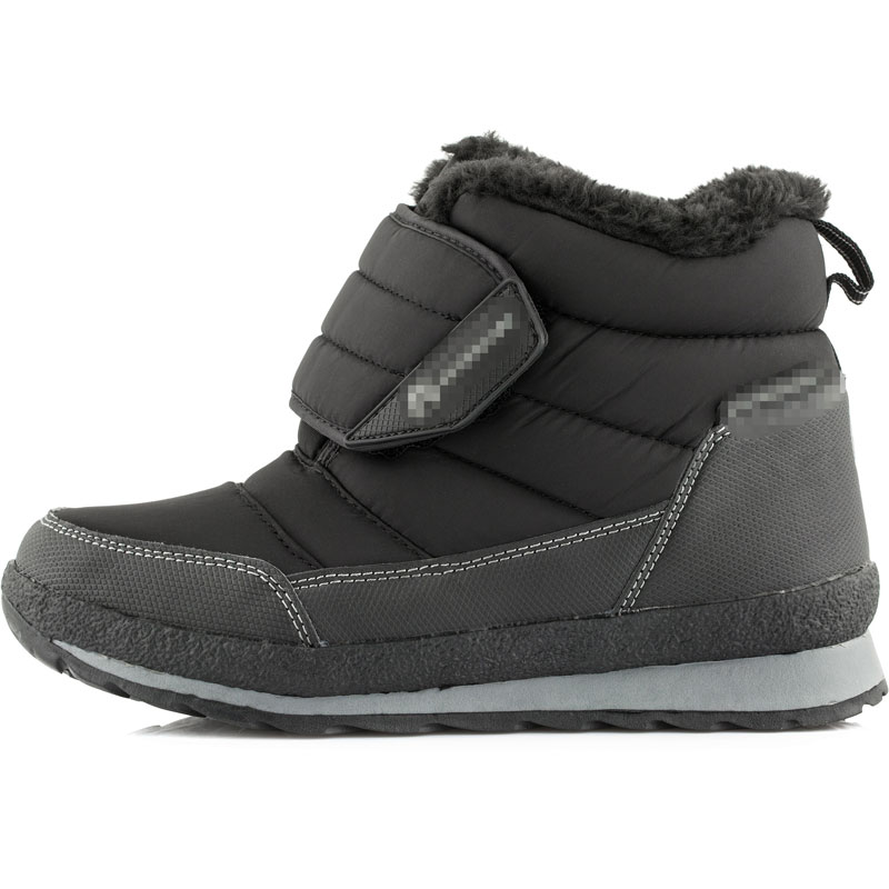Winter Kids Snow Boots Boys Children Martin Boots Girls Leather Shoes Rubber Boots Fashion Child Add Plush Sneakers Eur 30-38 2016 new fashion children martin boots girls boys winter shoes kids rain boots pu leather kids sneakers waterproof anti skid