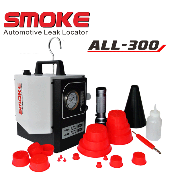 Professional ALL-300 Somke Automotive Leak Locator on All Vehicle Systems