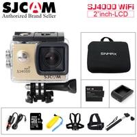 Original 100 SJCAM SJ4000 Wifi Action Camera HD 1080P 2 0 Inch LCD 170D Lens Helmet