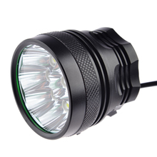 9*Cree 3-Mode LED 7200 Lumens Bicycle Light Front Headlight Headlamp for Fishing 7200mAh Battery Bicycle Accessories