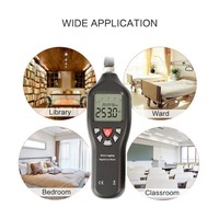 TL 600 Digital Lux Meter Data Logging with USB Fashion Shape 0.1 200000lux UV Light Meter / Screen Brightness Meter