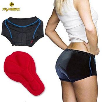 YKYWBIKE מכנסי רכיבה גברים נשים MTB ברמודה אופני תחתונים באיכות גבוהה 2019 פרו מרופד מכנסיים קצרים הרי אופניים Tricota מכנסיים קצרים