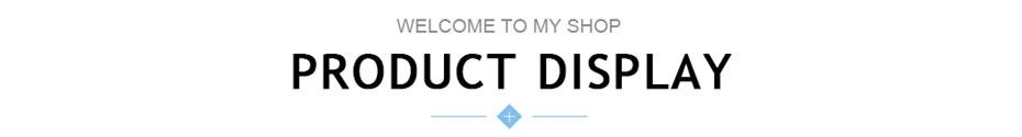 产品展示标题