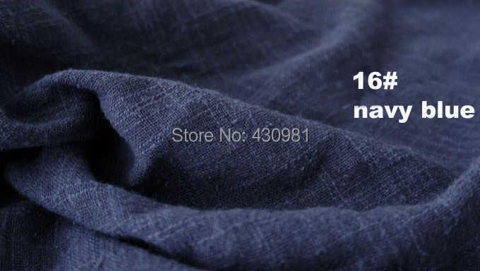 100 センチメートル * 140 センチメートルエスニックリネン綿クレープ生地しわ sluby 材料カーテンスカーフドレス