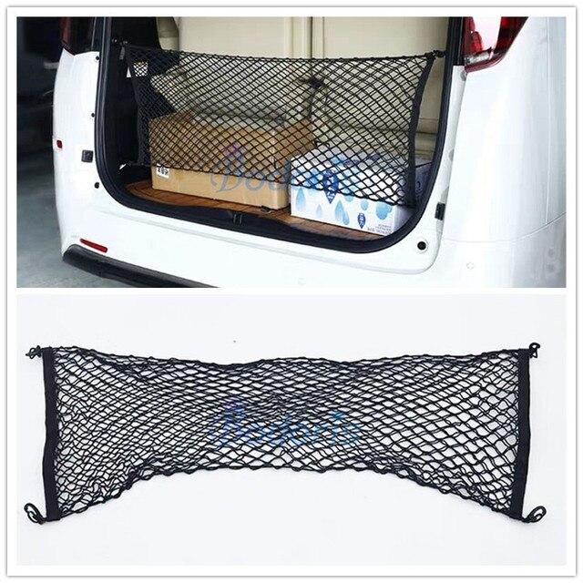 Für Toyota Vellfire Alphard Auto Lkw Lagerung Tasche Gepäck Netze Haken Organizer Dumpster Elastische Net Mesh Abdeckung Zubehör