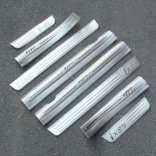 High quality stainless steel Internal External Thicken Scuff Plate/Door Sill 8PCS for 2015 HYUDNAI IX25