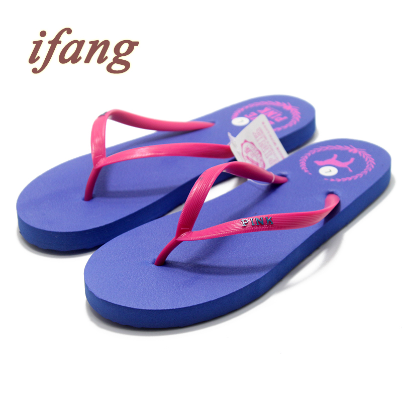 ifang Women s Sandals 2017 Summer Beach Flip Flops Lady Fashion Beach Casual Home House Platform