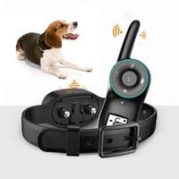 Automatic Dog Barking Stopper Shock Waterproof Training Collar Anti barking Device 2019ing