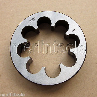 50mm x 1 Metric Right hand Die M50 x 1.0mm Pitch 52mm x 2 metric right hand thread die m52 x 2 0mm pitch