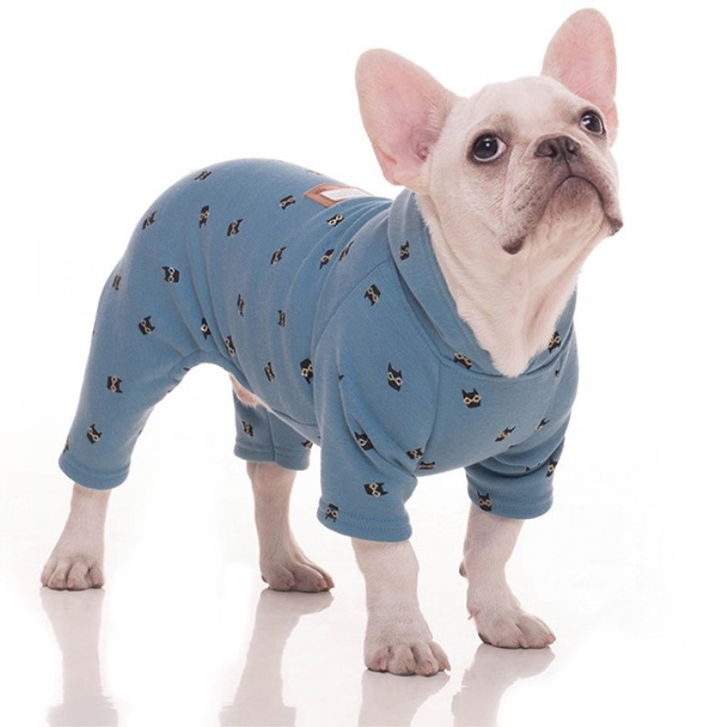 Pet Products Dog Supplies Thick Velvet Clothes Chihuahua Puppy Big Dogs Jumpsuits Winter Apparel thumbnail