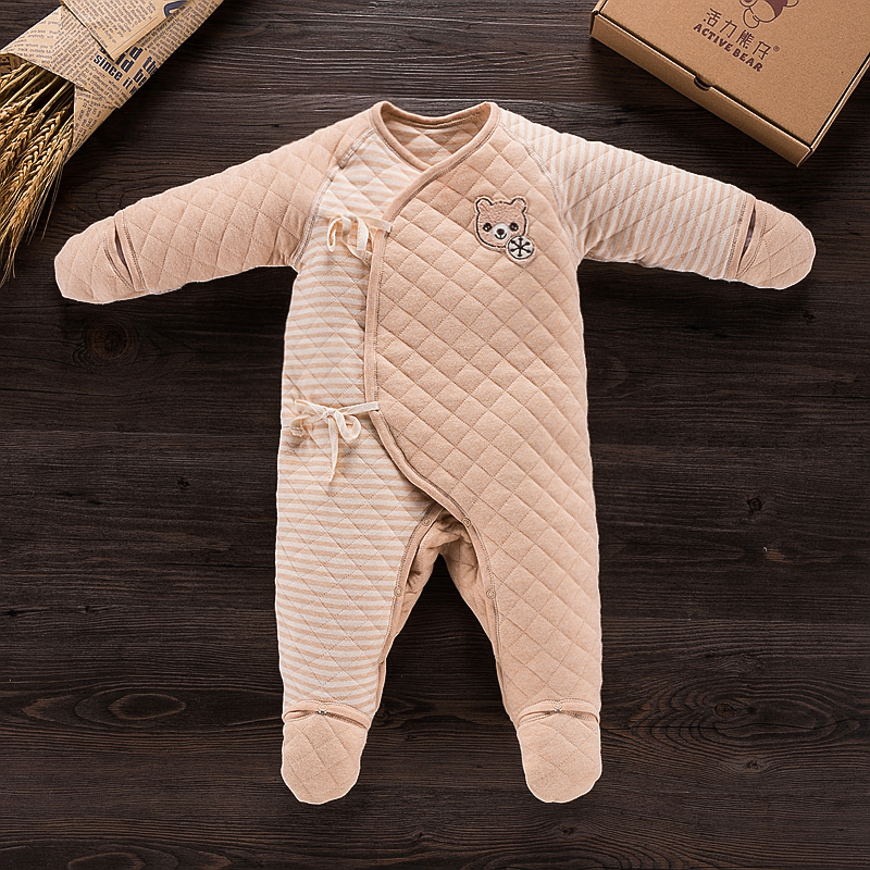 Newborn baby rompers high quality natural cotton infant boy girl thicken outfit clothing ropa bebe recien nacido baby clothes newborn baby rompers high quality natural cotton infant boy girl thicken outfit clothing ropa bebe recien nacido baby clothes