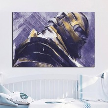 Painting Avengers Endgame Marvel Superheroes Posters and Prints Decorative Wall Art Pictures for Living Room Home Decoration