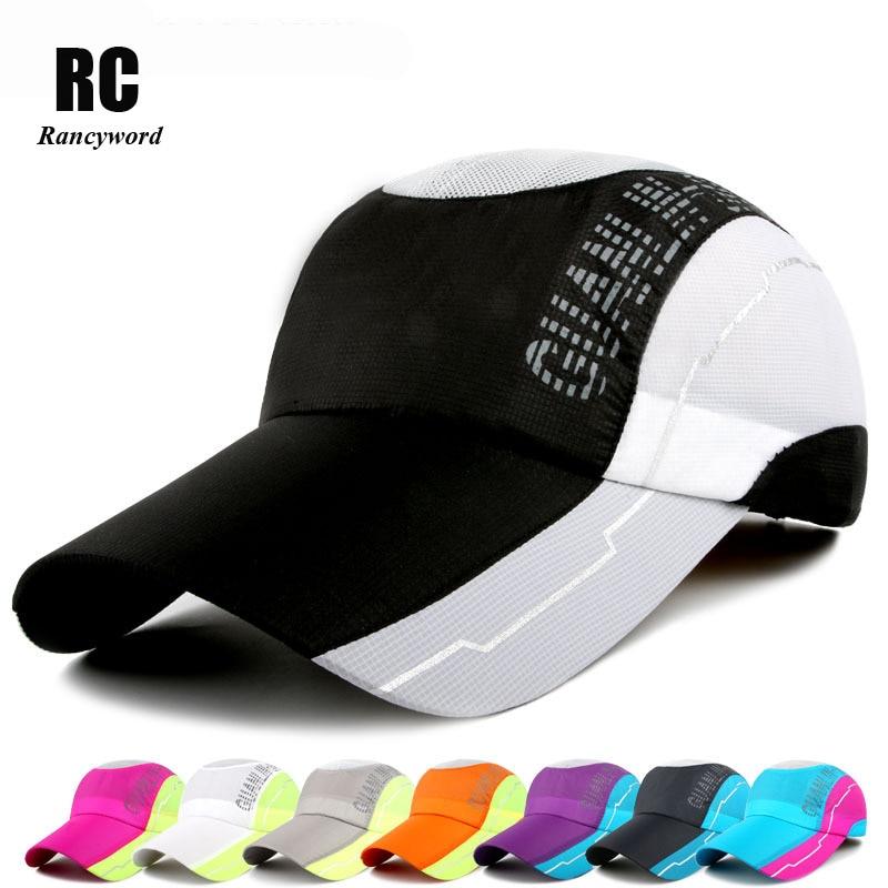 [Rancyword] New Quick Dry Mesh Golf Hat For Men Women Snapback Baseball caps Visor Sports Cap Summer Sun Hats Letter RC1132 л н толстой л н толстой рассказы для детей