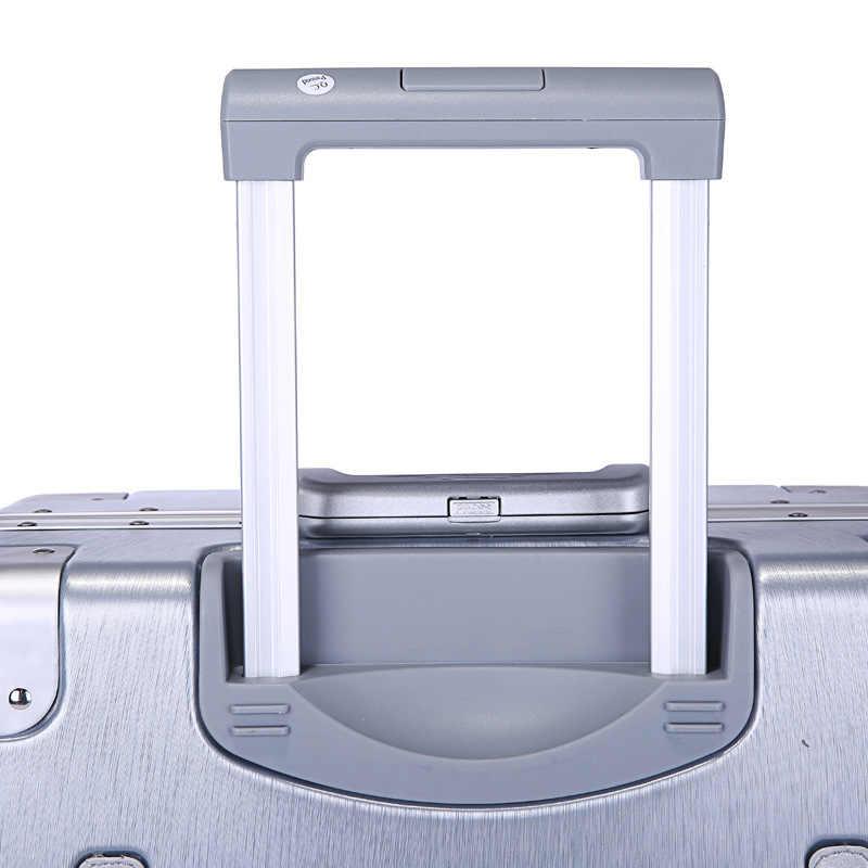 f7063dde24ce 20'24'26'29' Aluminum Frame Suitcase Carry On Luggage Hardside Rolling  Luggage Travel Trolley Luggage Suitcase