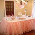 Queen Snowflake Tutu Table Skirt Custom Winter Wonderland Tulle Tutu Table Skirt Wedding Birthday Baby Shower Party Decoration