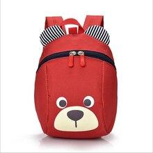 Aged 1-3 Toddler backpack Anti-lost kids baby bag cute animal dog children backpacks kindergarten school bag mochila escolar