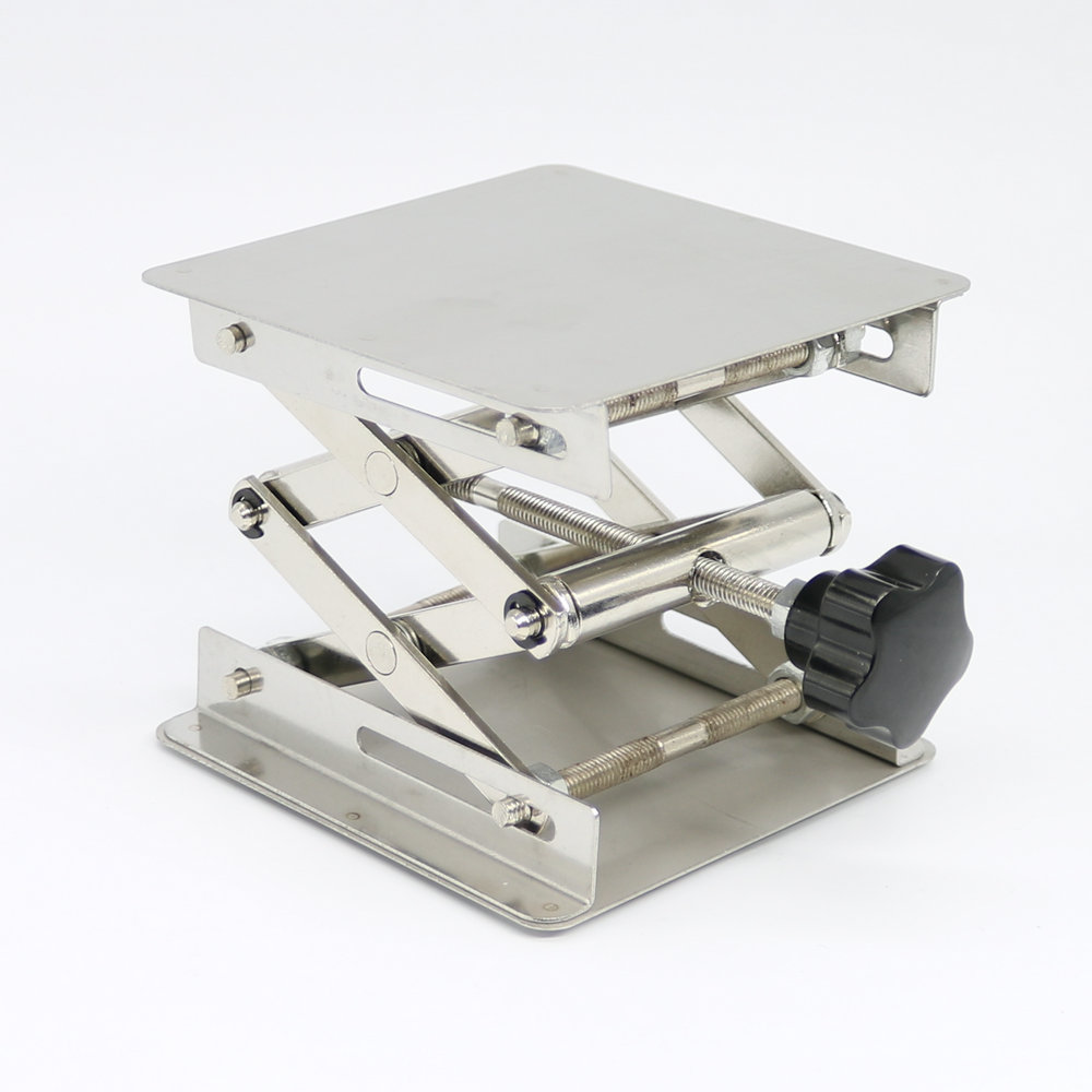 6X6'' Stainless Steel Lab-Lift Lifting Platforms Lab Jack Scissor - Arts, Crafts and Sewing - Photo 2