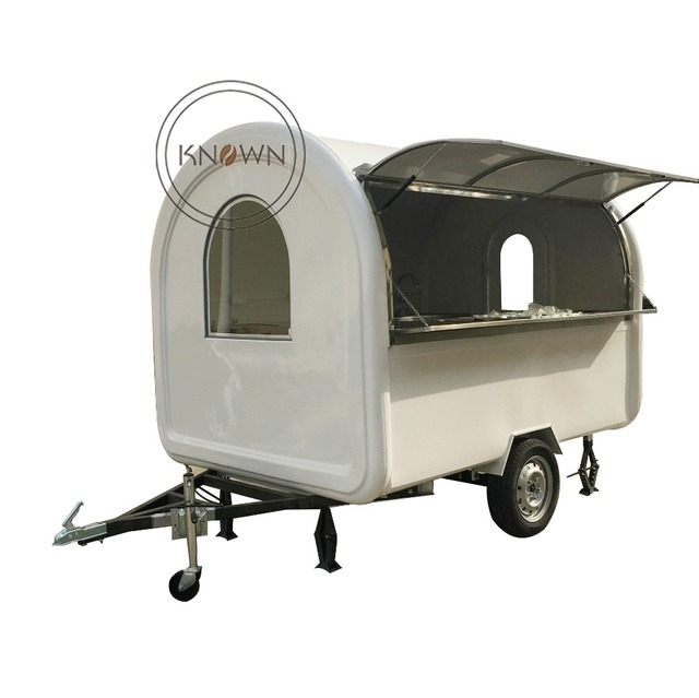KNFR250WB 250 length China dog trailer trailers mobile food cart for sale