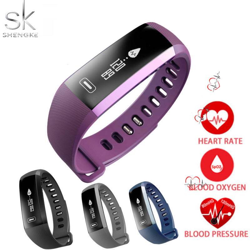Original R5 pro Smart wrist Band Heart rate Blood Pressure Oxygen Oximeter Sport Bracelet Watch intelligent For iOS Android 2018