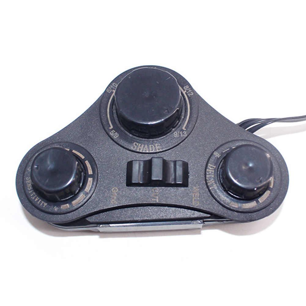 4 Arc TIG MIG объектив сварочная линза авто затемнение шлифовальный Шлем Большой вид Защитная Солнечная сварочная маска Крышка