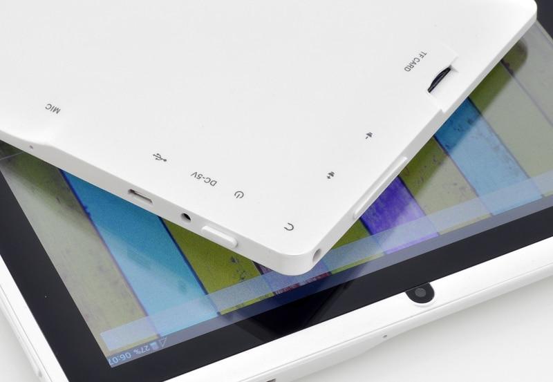 Vente en gros-livraison gratuite 7 pouces Q88 tablette pc double caméra Android 4.2 A23 7 pouces tablette PC double coeur CPU, caméra, 4 GB - 5