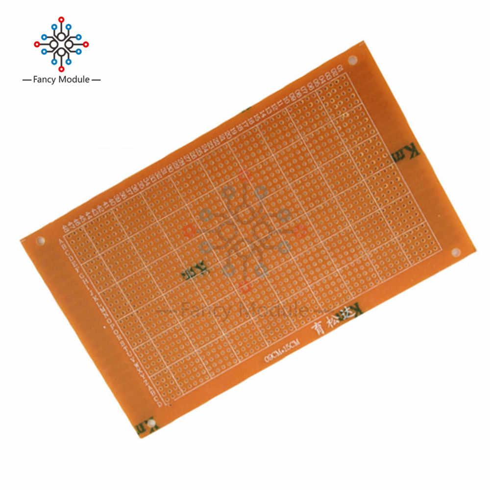 Panneau universel de carte PCB 1 pc 9x15 cm 2.54mm bricolage Prototype papier panneau de Circuit imprimé