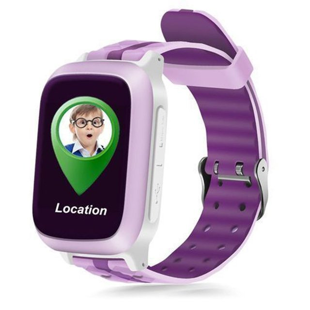 GENBOLI GPS Tracker Kids Safe Smart Watch SOS Call SIM Children Antilose Waterpr