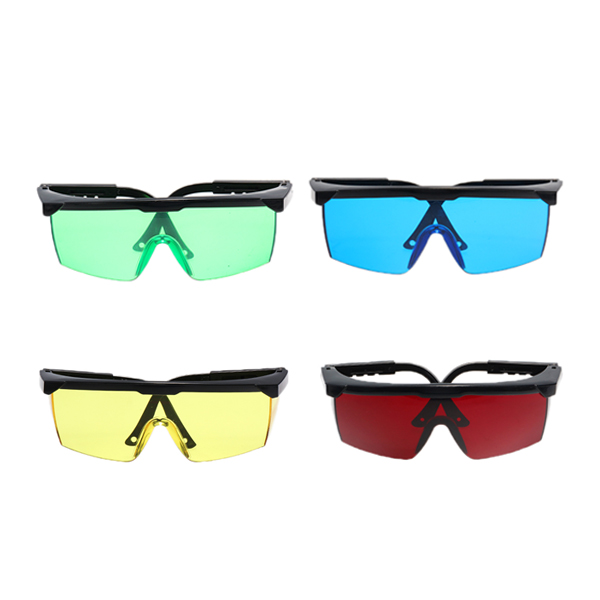Safurance Laser Goggles Safety Glasses Protective Eyewear PC with Adjustable Legs  Workplace Safety