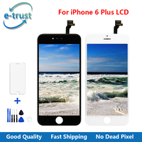 E Trust Execellent Quality AAA LCD For IPhone 6 Plus Display Touch Screen Digitizer Assembly Free