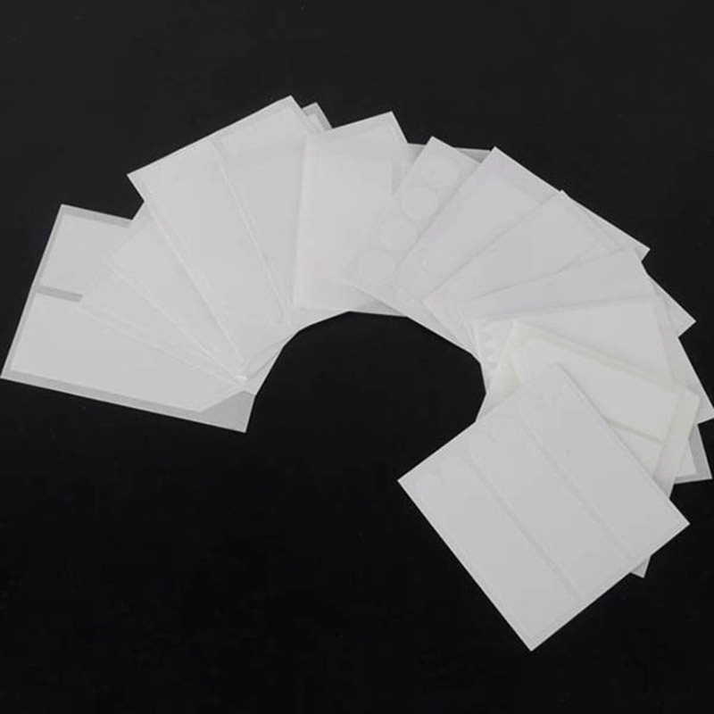 10PCS Form Guide Stickers Tips Design Decal French Manicure Nail Art Fringe DIY Salon New Stencil Wholesale Professional #1107