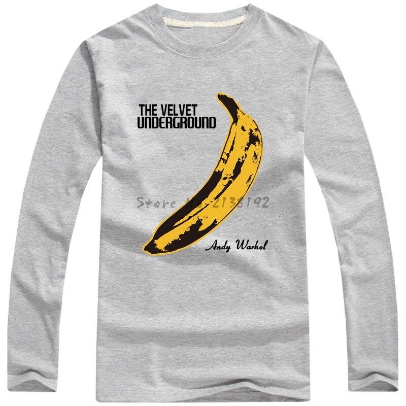 Free Shipping Velvet Underground Lou Reed 100 Cotton O Neck Full Sleeve T Shirt Unisex Velvet Underground Lou Reedfull Sleeve T Shirt Aliexpress