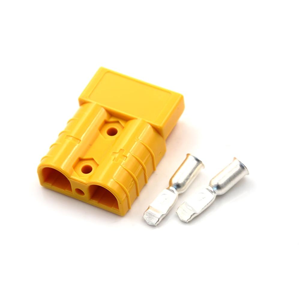 Vehemo для Plug 50A 600 в штепсельный соединитель мощность разъем Железнодорожный электрические системы высокий ток Plug мощность Сменные - Цвет: yellow