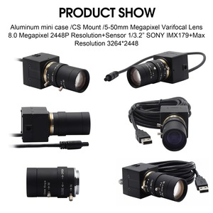 Image 5 - 8MP 3264X2448 ソニーIMX179 cctv usbカメラ 5 50 ミリメートルバリフォーカルcsレンズhd usb工業用ボックス内部監視usbカメラウェブカメラ