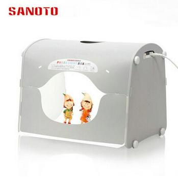NEW SANOTO Professional LED Softbox Photo Studio Photography Light Box Portable Mini Photo Box K40-LED 220/110V