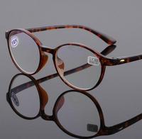 2017 Fashion TR90 Reading Glasses Men Women Retro Round Metal Frames Eyewear Presbyopic Eyeglasses Diopter Vintage