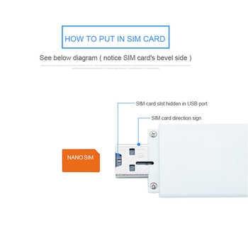 TIANJIE LDW922 3G 4G universal WiFi Router Mobile Portable Mini Wireless USB modem dongle with nano SIM Card Slot