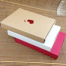 Bigger Mother Day Gift Box 15pcs 20*2.5*15cm Wedding Favour Box Macaron Packaging Caixa Kraft Paper Boxes Jewelry Cake Gift