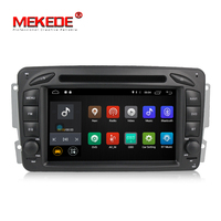Wholesale!MEKEDE M518 Android7.1 Car tape recorder GPS DVD Player for Benz W209 W203 W463 Viano W639 Vito support 4G wifi BT