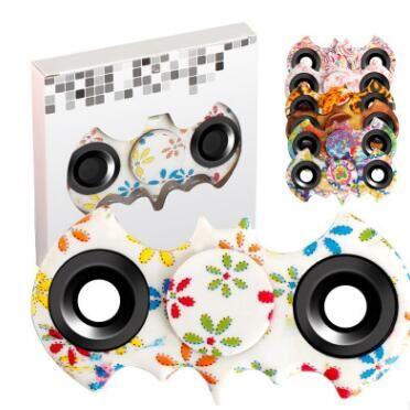 8 Colors Hand Spinner Fidget Batman Stress Spiner Fidget Spinner Tri-Spinner Fidget...