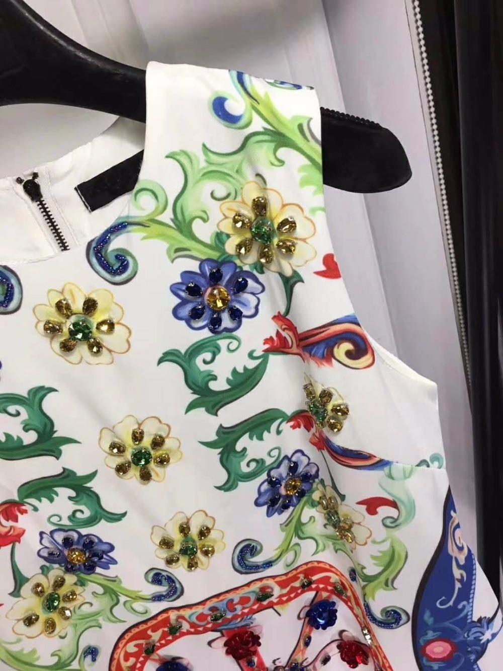 Vestidos verano 2018 mode poupée style décontracté floral robe mignon bureau mini robes pour femmes été vintage roupas feminina - 5