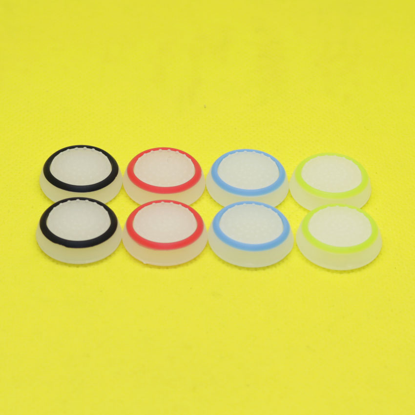 16PCS Colorful Silicone Analog Thumbstick Caps for Sony PS4 Joystick Caps for Dualshock 4 Controller Game Accessories