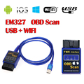 Hot sale! New WIFI ELM327 Auto Scanner Wireless OBD2 OBDII Adapter ELM 327 Interface OBD2 / OBD II Auto Car Diagnostic Scanner