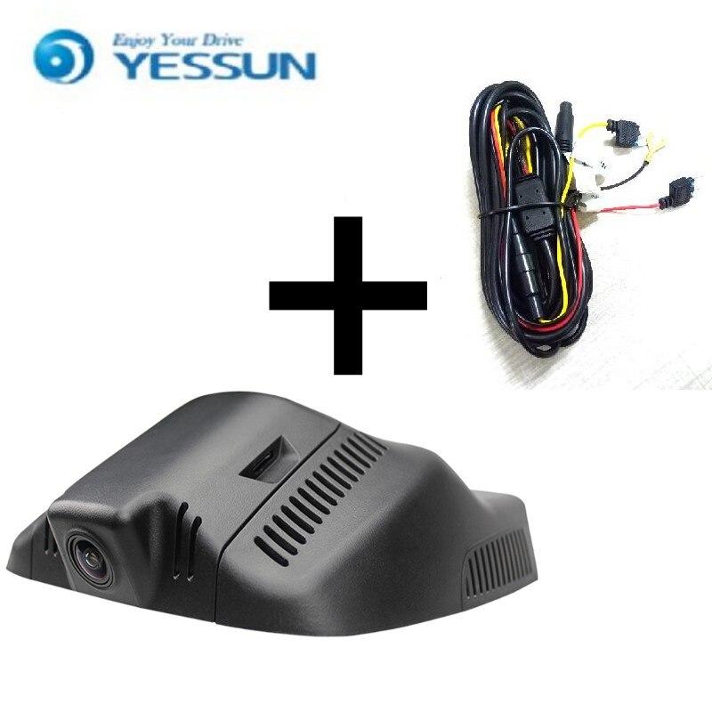 YESSUN для Audi 200 2011-2015 управлять рекордер автомобиль DVR мини камеры WiFi полный HD 1080p автомобиль тире камеры видео рекордер черный ящик