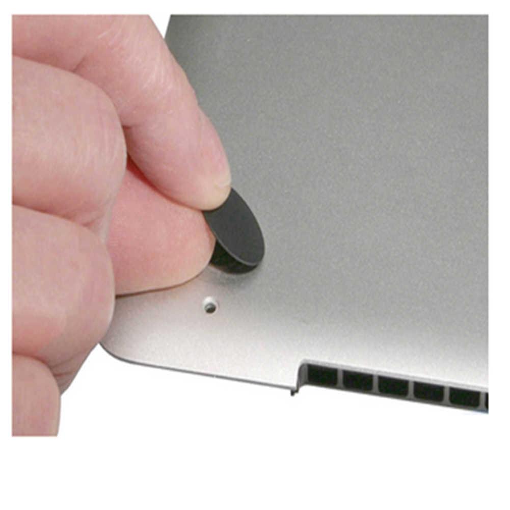 4 pièces OEM boîtier inférieur en caoutchouc coussin de pied ordinateur portable pieds remplacement coussin tapis rond pour Macbook Pro Retina A1398 A1425 A1502