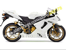 Hot Sales,For Kawasaki Sportsbike Ninja ZX-6R 05 06 ZX 6R ZX6R 2005 2006 ZX 6R All White Motorcycle Fairing (Injection molding)